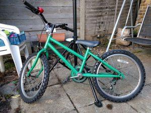 Nicky's bike post-overhaul